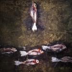 I pesci -100x100cm- 1995