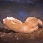 Donna e l'orizzonte -125x200cm- 1997